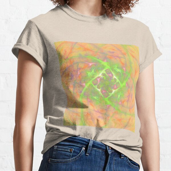 At the beginning of the rotation #fractal art 2 Classic T-Shirt