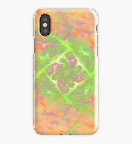 At the beginning of the rotation #fractal art 2 iPhone Case