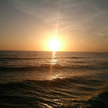 San Diego beach by Sieell