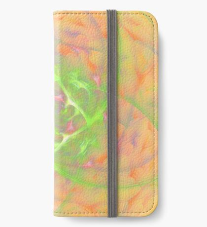 At the beginning of the rotation #fractal art 2 iPhone Wallet