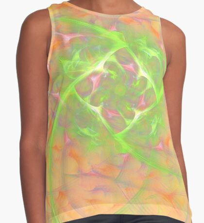 At the beginning of the rotation #fractal art 2 Sleeveless Top