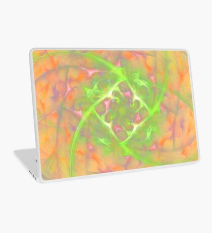 At the beginning of the rotation #fractal art 2 Laptop Skin