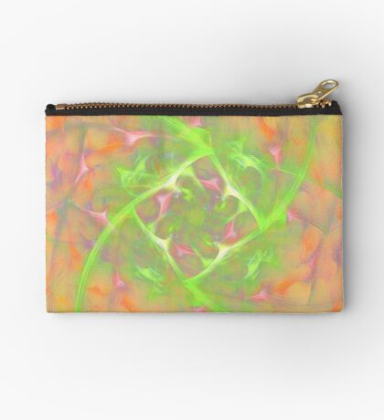 At the beginning of the rotation #fractal art 2 Zipper Pouch
