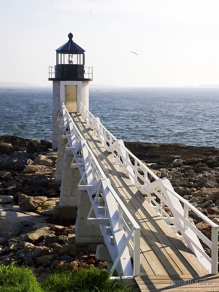 Marshall Point Lighthouse, Port Clyde, Maine by Kenneth Keifer