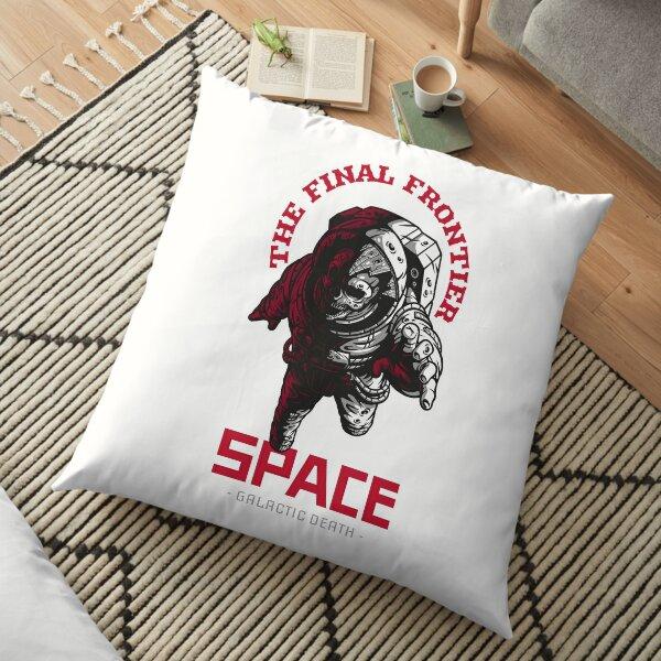 Space Final Frontier Undead Astronaut Floor Pillow