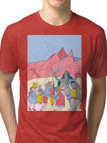 Kali dance  Tri-blend T-Shirt
