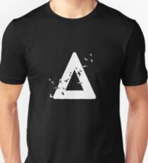 Bastille Birds Triangle White T-Shirt