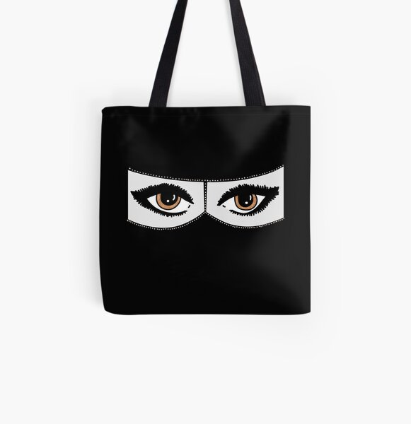Niqabi All Over Print Tote Bag
