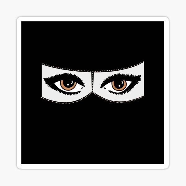 Niqabi Sticker