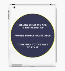 Science - Time Travel iPad Case/Skin