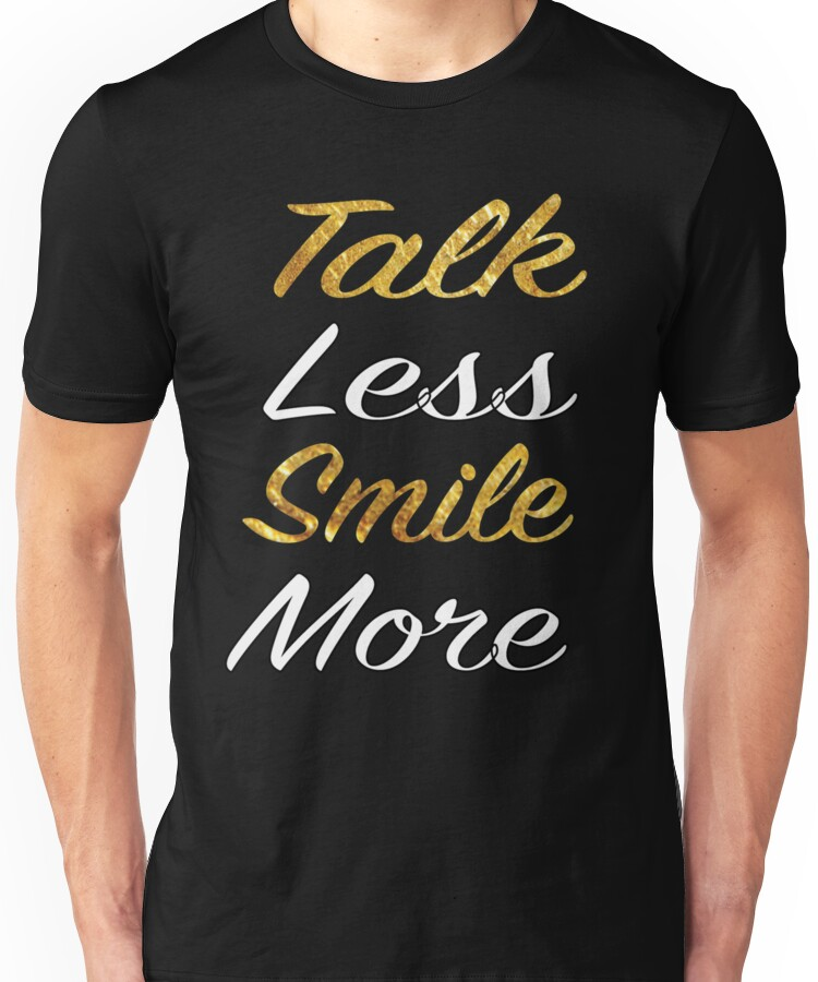 Hamilton Talk Less Smile More shirt