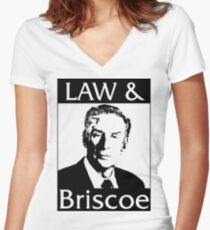 Gesetz & Briscoe Shirt mit V-Ausschnitt
