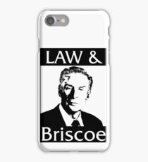 Law & Briscoe iPhone Case/Skin