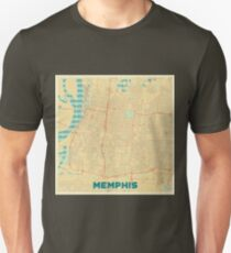 Memphis Map Retro Unisex T-Shirt