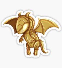 Happy The Dragon Sticker