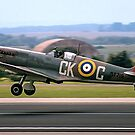 Spitfire LF.VIIIc MT719/CK-C G-VIII by Colin Smedley