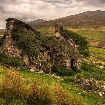 Ancient Welsh Cottage by malbraman