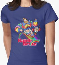 RAINBOW BRUTE! Women's Fitted T-Shirt