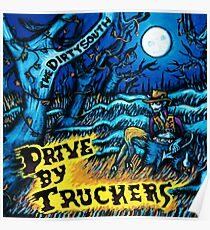 DRIVE BY TRUCKERS TOURS 10 Poster