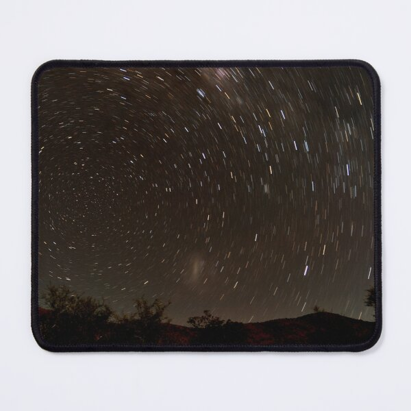 Startrail in outback Australia Mouse Pad