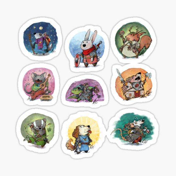 Cute RPG Full Party Sticker