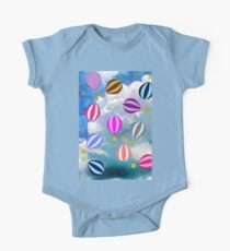 Colourful Hot Air Balloons Kids Clothes