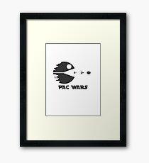 Pac Wars Framed Print