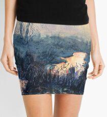 Sunset on Skipwith Common Mini Skirt