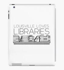 Louisville loves libraries iPad Case/Skin