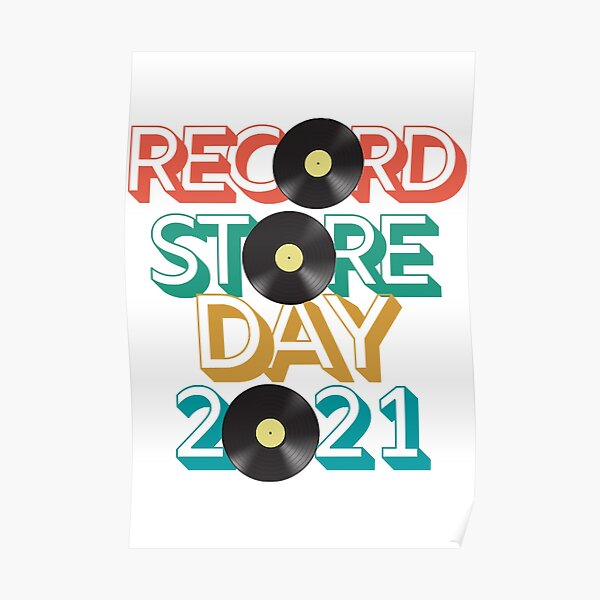 Record Store Day 2021  Poster