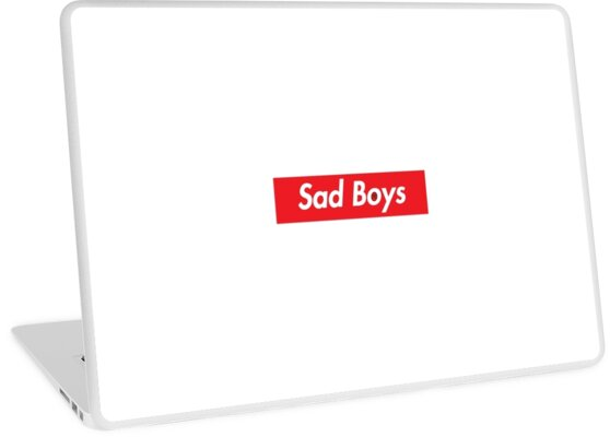 9694ad3b3109 Sad Boys supreme logo with included sad face