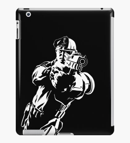The Force by Grey Williamson (White) iPad Case/Skin