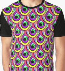 bright scales in rainbow colors Graphic T-Shirt