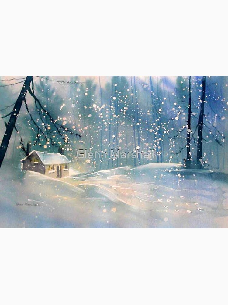 Cottage in the Snow by treeman