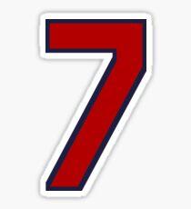 #7 Sticker