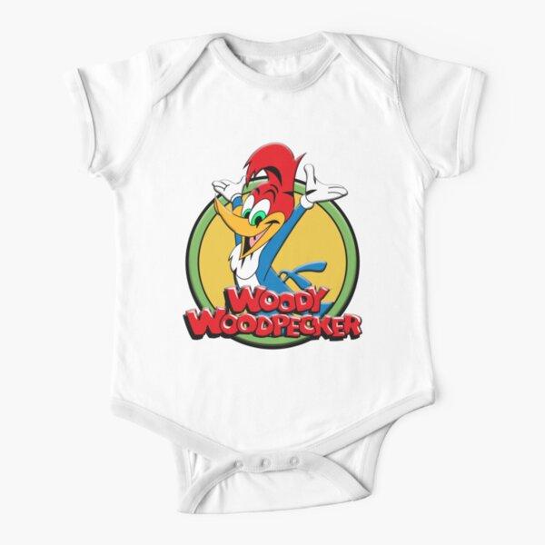 WOODY WOODPECKER VI Short Sleeve Baby One-Piece