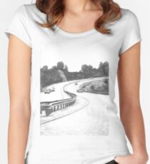 the Highway Women's Fitted Scoop T-Shirt