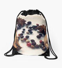 Warm Spices Drawstring Bag