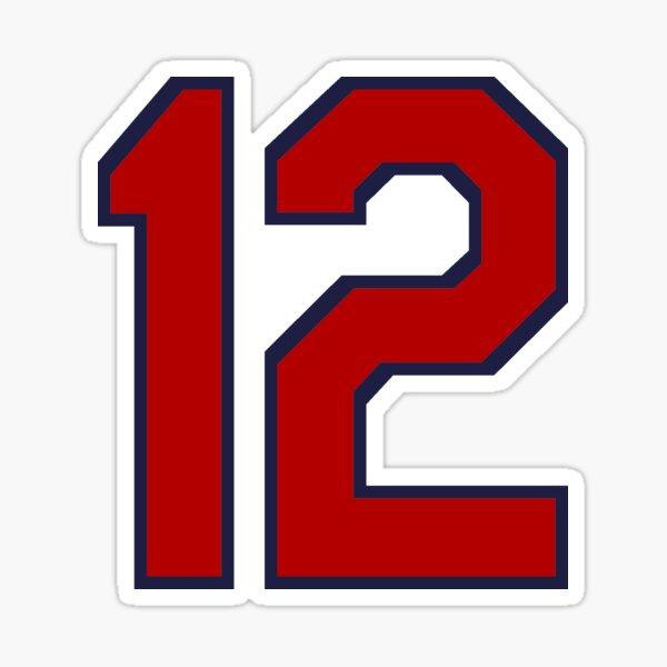 #12 Sticker