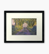 Hockney's Tunnel from t'Other Side Framed Print