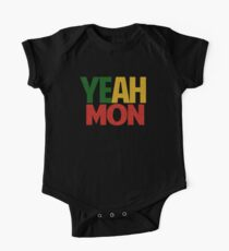 Yeah Mon! Jamaican Slang One Piece - Short Sleeve