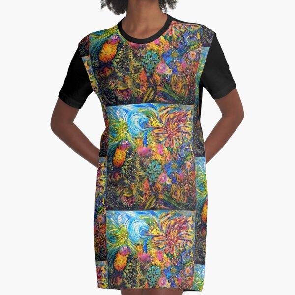 Radiance Graphic T-Shirt Dress