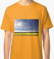 Sun Halo Over Canola Field Classic T-Shirt