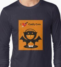 I Heart Candy Corn Long Sleeve T-Shirt