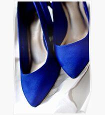 Something Blue ~Wedding shoes Poster