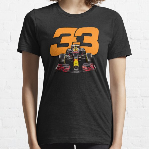 Max Verstappen #33 Formule 1 T-shirt essentiel
