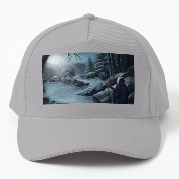 Amidst the Snow Capped Mountains Baseball Cap