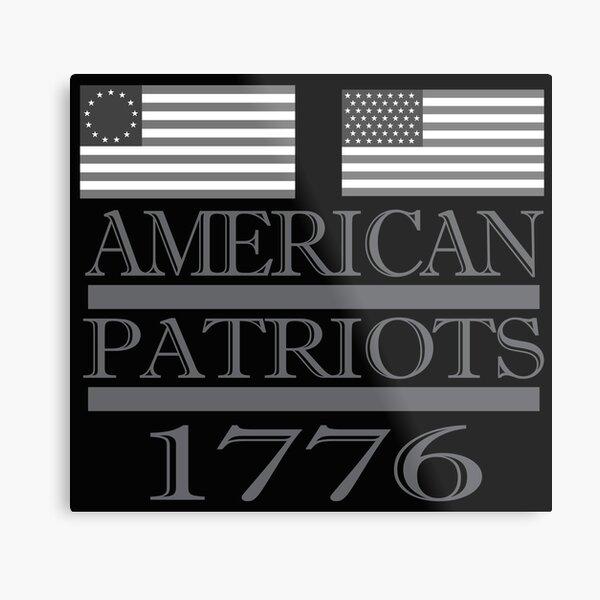 American Patriots 1776  Metal Print