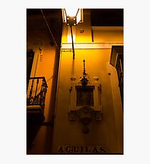 Seville at Night - Calle Aguilas Photographic Print