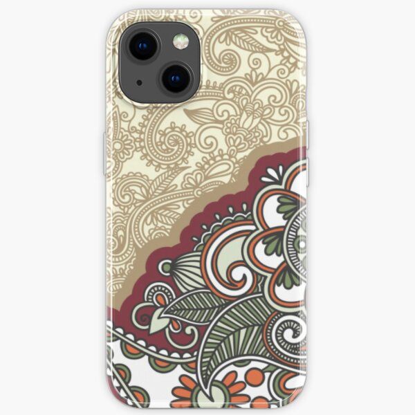 Traditional motif batik  iPhone Soft Case